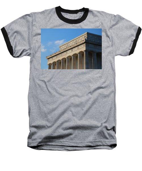 Lincoln Memorial - The Details Baseball T-Shirt