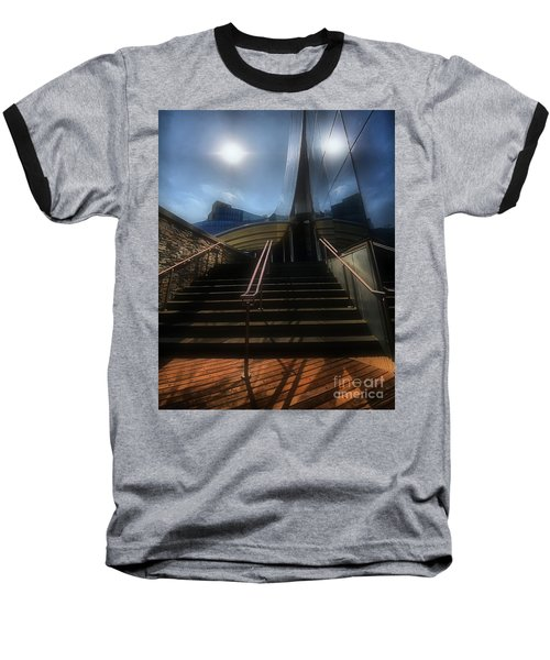 Baseball T-Shirt featuring the photograph Lines N Textures by Robert McCubbin