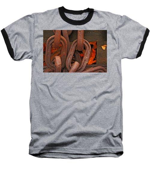 Linked Baseball T-Shirt by Rowana Ray