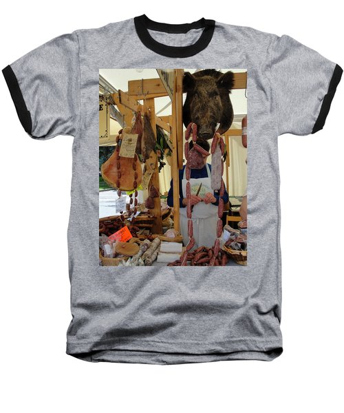 Baseball T-Shirt featuring the photograph Links by Natalie Ortiz