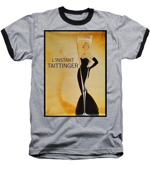 L'instant Taittinger Baseball T-Shirt