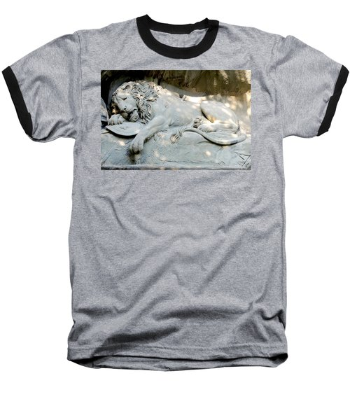 Lion Monument In Lucerne Switzerland Baseball T-Shirt