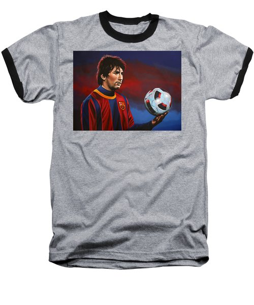 Lionel Messi 2 Baseball T-Shirt