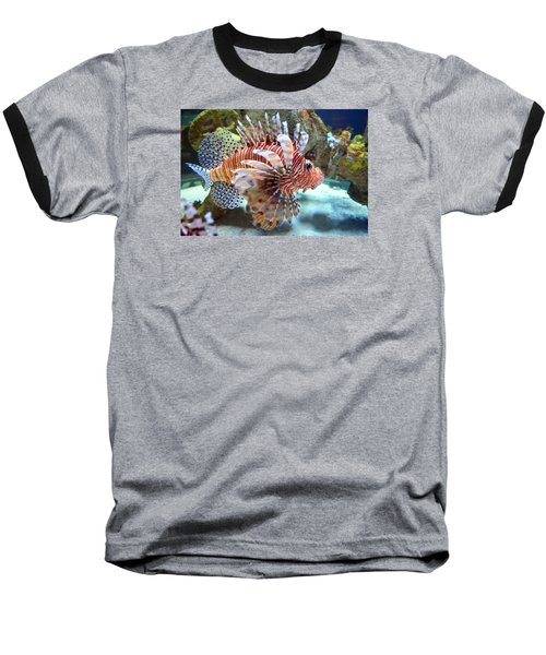 Lionfish Baseball T-Shirt