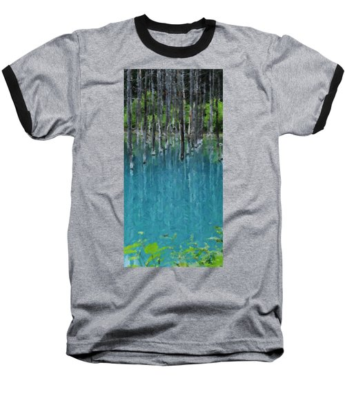 Liquid Forest Baseball T-Shirt