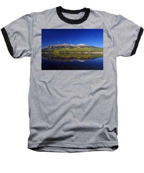 Liquid Mirror Baseball T-Shirt