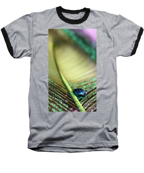 Liquid Reflections Baseball T-Shirt