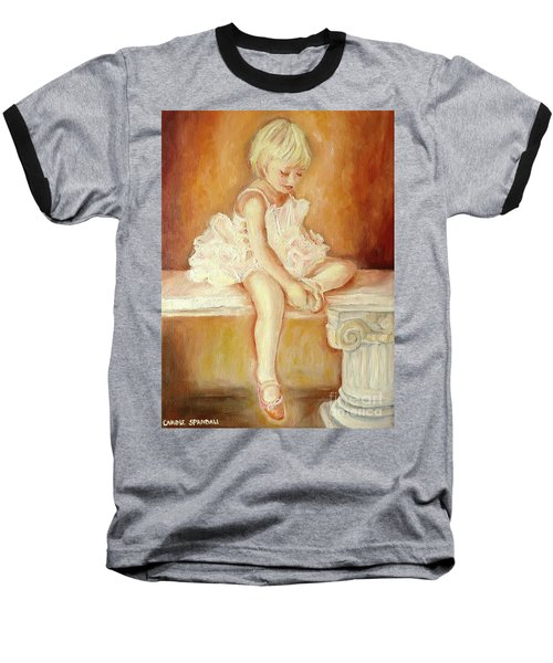 Little Ballerina Baseball T-Shirt
