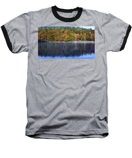 Little Beaver Lake Baseball T-Shirt by Melissa Petrey
