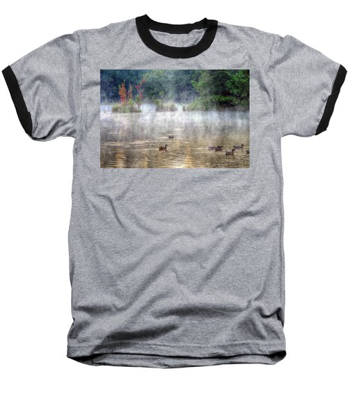 Baseball T-Shirt featuring the photograph Little Bit Of Fall by Charlotte Schafer