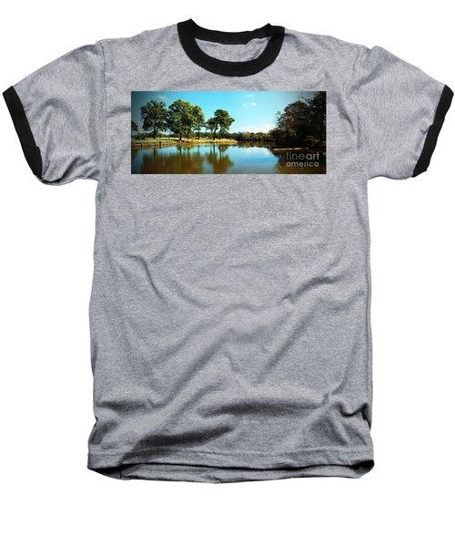 Baseball T-Shirt featuring the photograph Little Creek by Angela DeFrias
