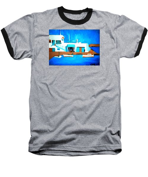 Paros  Cute Spot On Greek Island Baseball T-Shirt