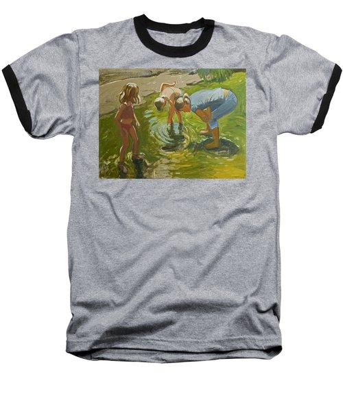 Little Fish Baseball T-Shirt