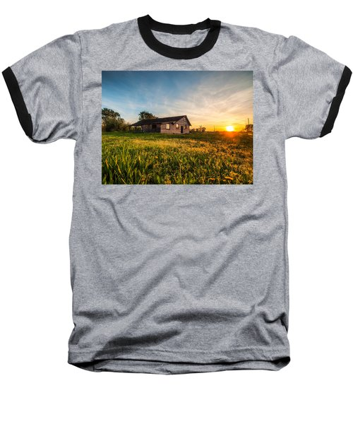 Little House On The Prairie Baseball T-Shirt by Davorin Mance
