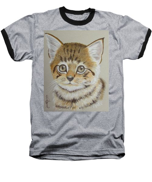 Little Kitty Baseball T-Shirt
