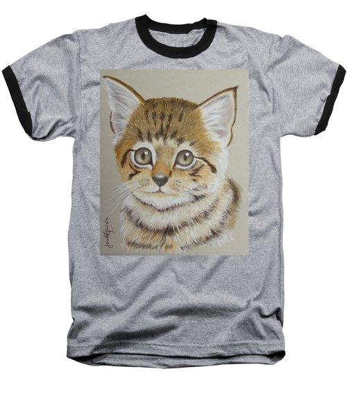 Little Kitty Baseball T-Shirt