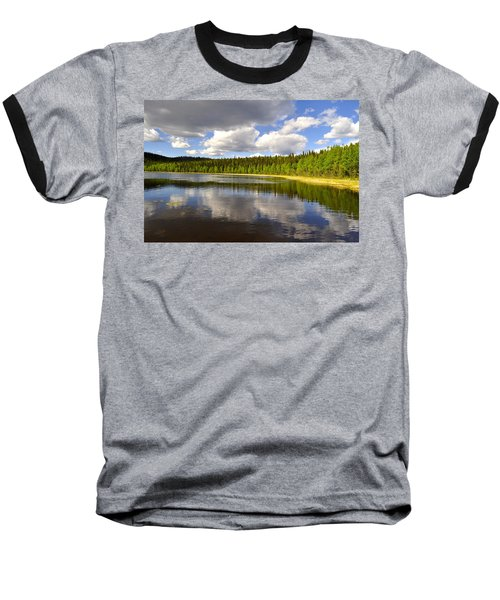 Baseball T-Shirt featuring the photograph Little Lost Lake by Cathy Mahnke