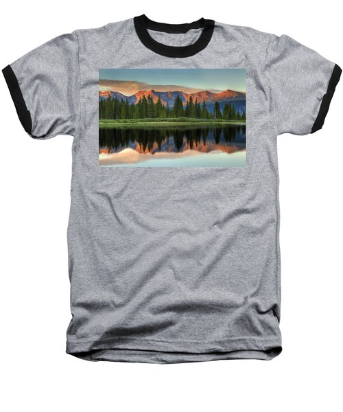Little Molas Lake Sunset 2 Baseball T-Shirt