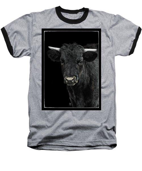 Little Moo Baseball T-Shirt