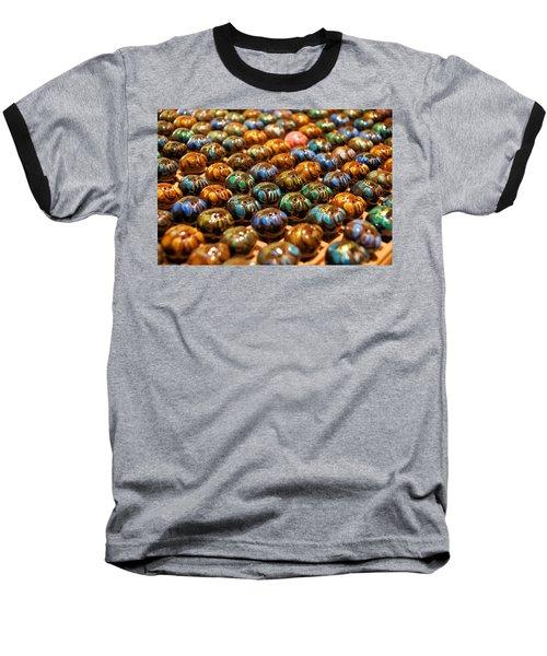 Little Pigs Baseball T-Shirt by Ron Harpham