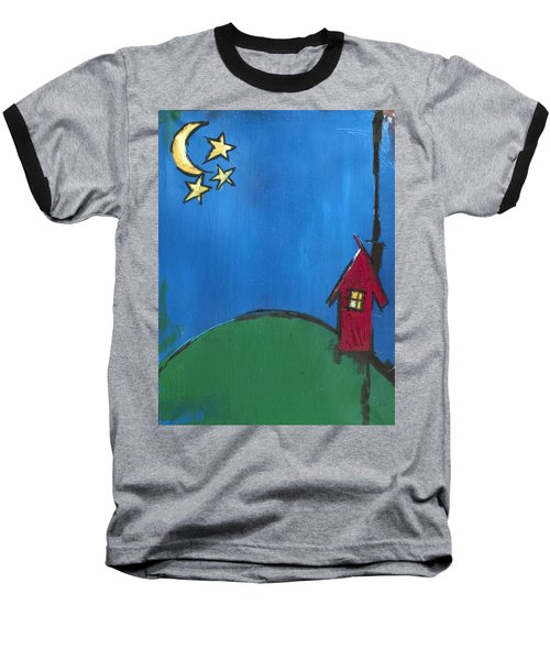 Little Red House Baseball T-Shirt