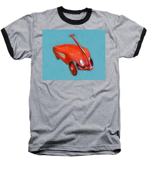 Little Red Wagon Baseball T-Shirt