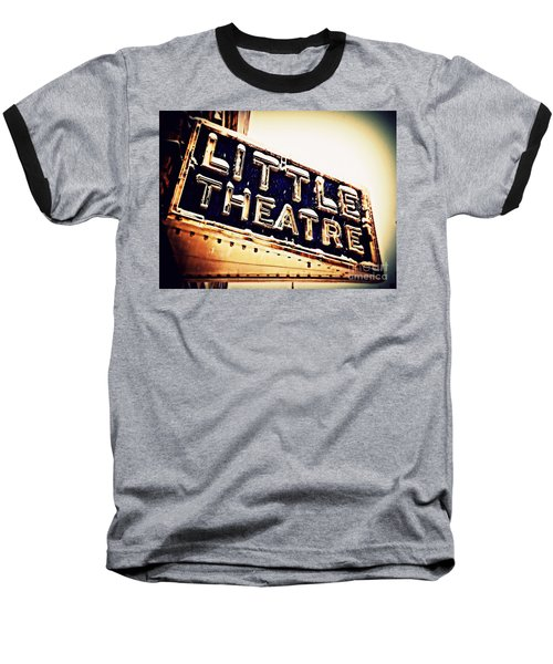 Little Theatre Retro Baseball T-Shirt