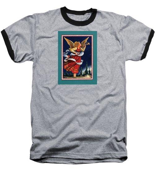 Little Town Of Bethlehem Baseball T-Shirt