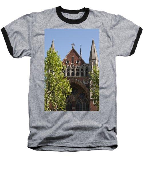 Baseball T-Shirt featuring the photograph Little Venice Church by Maj Seda