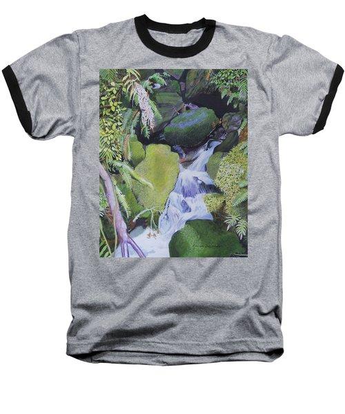 Small Waterfall Baseball T-Shirt