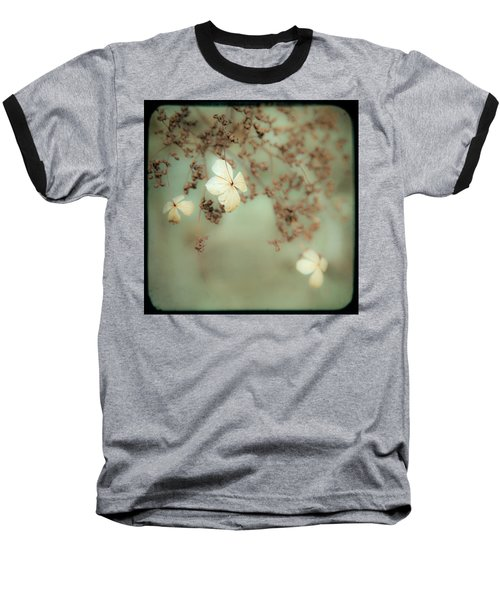 Little White Flowers - Floral - The Little Things In Life Baseball T-Shirt