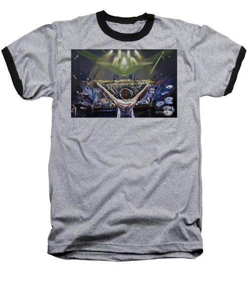 Live Dj Baseball T-Shirt
