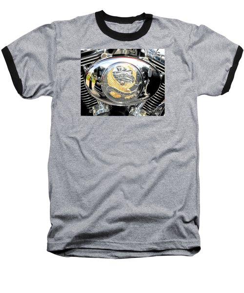 Baseball T-Shirt featuring the photograph Live To Ride - Ride To Live 2 By David Lawrence by David Perry Lawrence