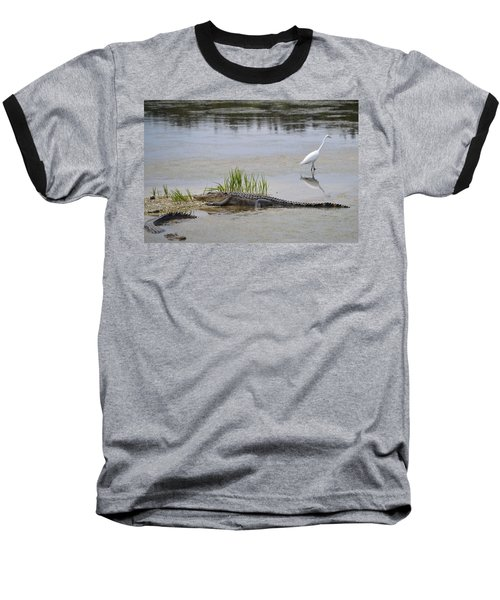 Baseball T-Shirt featuring the photograph Living In Harmony by Judith Morris