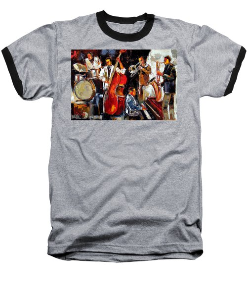 Living Jazz Baseball T-Shirt
