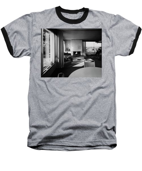 Living Room In Mr. And Mrs. Walter Gropius' House Baseball T-Shirt