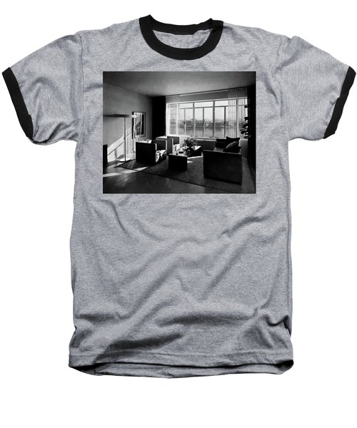 Living Room In The Ny Home Of Edward M. M Baseball T-Shirt