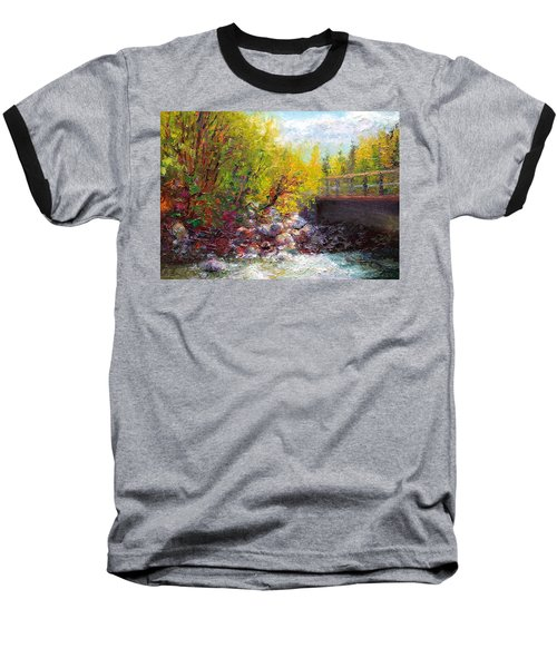 Living Water - Bridge Over Little Su River Baseball T-Shirt