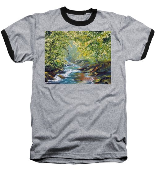 Living Water Baseball T-Shirt
