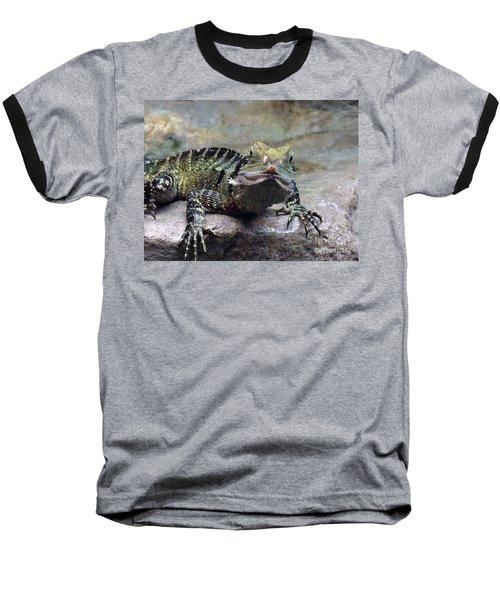 Baseball T-Shirt featuring the photograph Lizzie's Gaze by Lingfai Leung