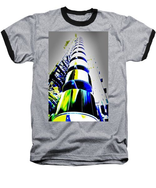 Lloyd's Building London Art Baseball T-Shirt