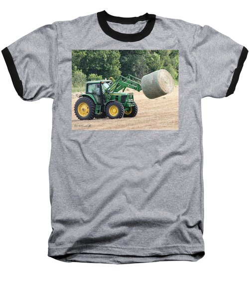 Loading Hay Baseball T-Shirt
