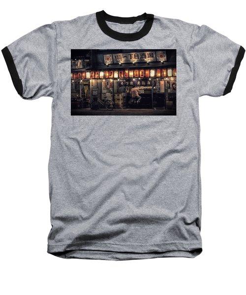 Local Soba Baseball T-Shirt