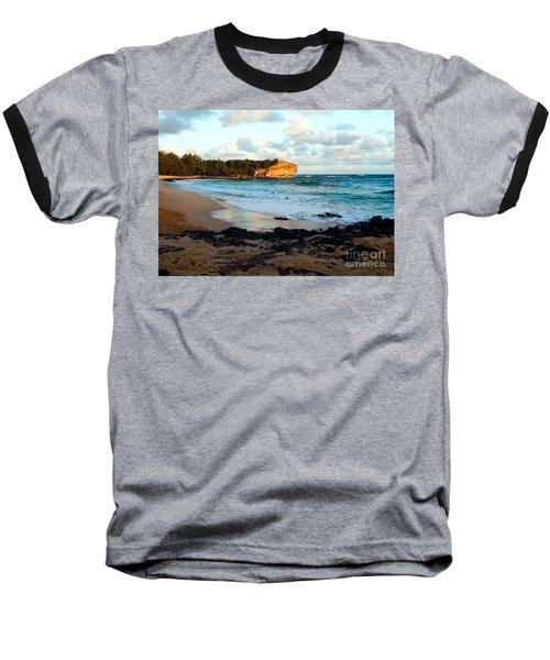 Local Surf Spot Kauai Baseball T-Shirt