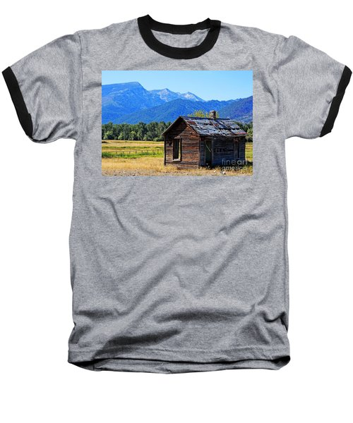 Baseball T-Shirt featuring the photograph Location Location Location Montana by Joseph J Stevens