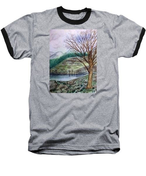 Loch Ard Stirling Overlooking Loch A'ghleannain Baseball T-Shirt