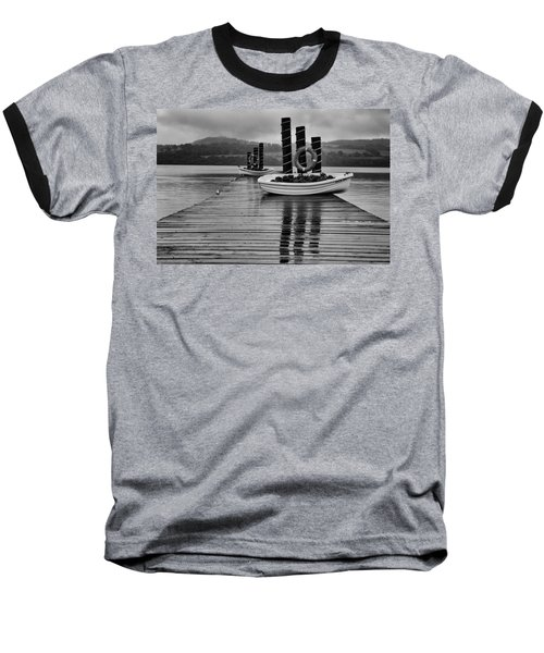 Loch Lomond Baseball T-Shirt by Eunice Gibb