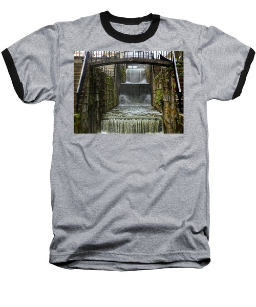 Lockport Falls Baseball T-Shirt by Richard Engelbrecht