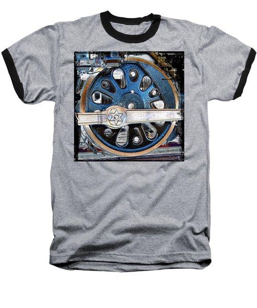 Loco Wheel Baseball T-Shirt