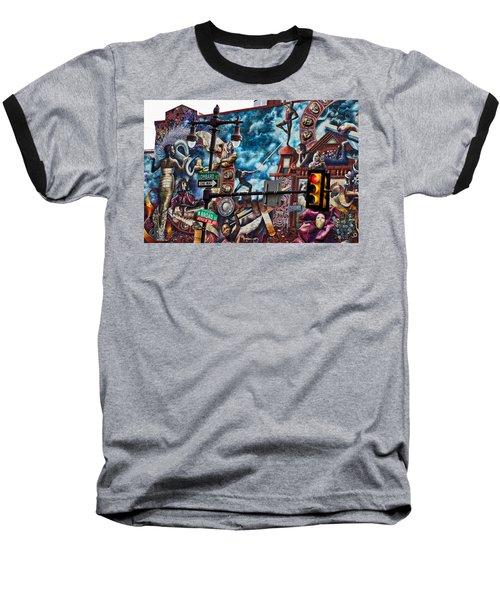 Lombard And Broad Baseball T-Shirt